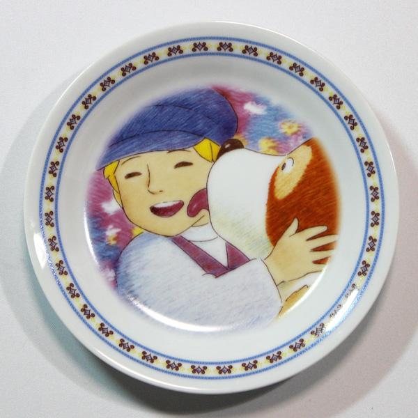 フランダースの犬絵皿