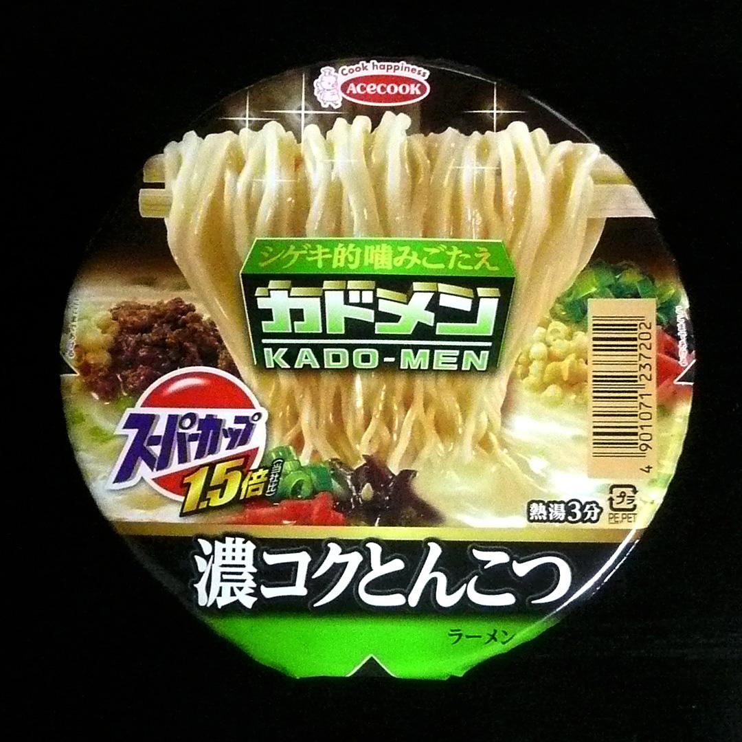 スーパーカップ 濃コクとんこつ カドメン【エースコック】
