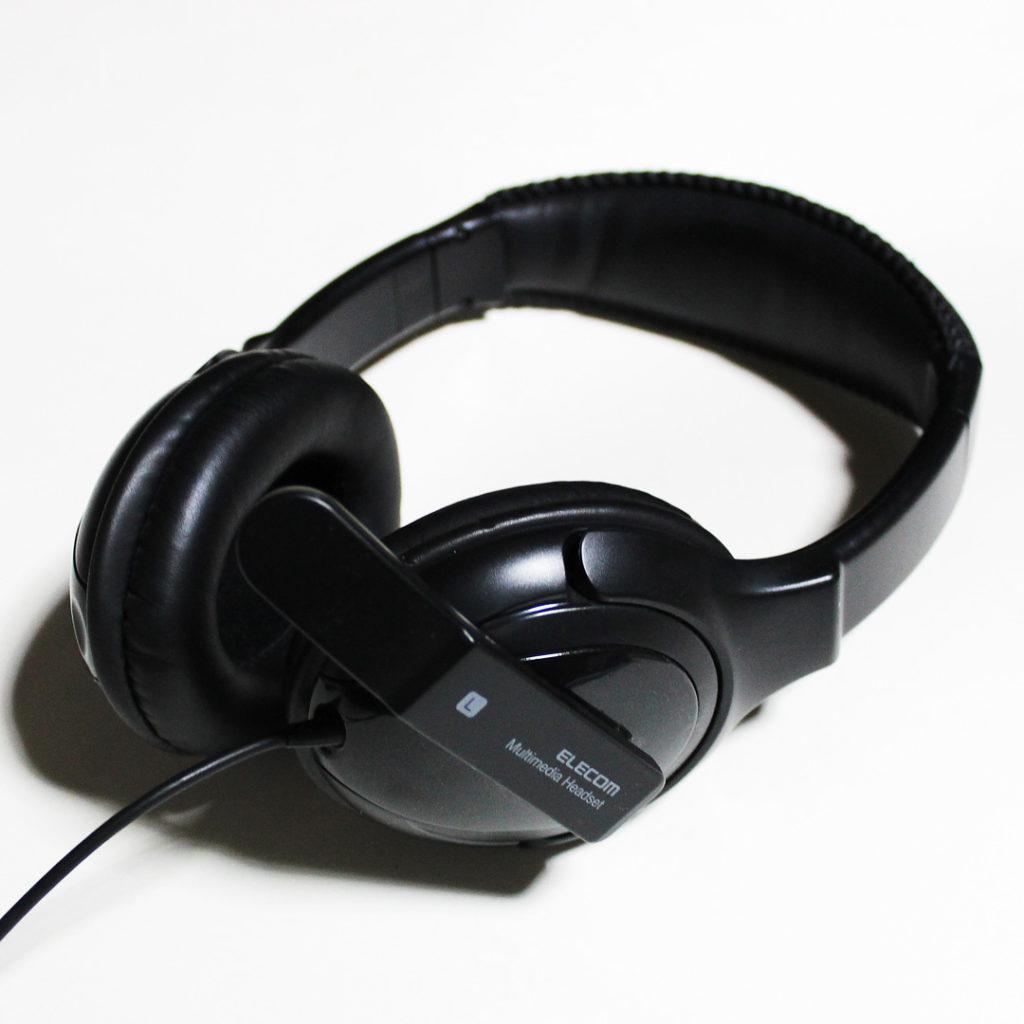 ELECOMヘッドセット HS-HP18UBK