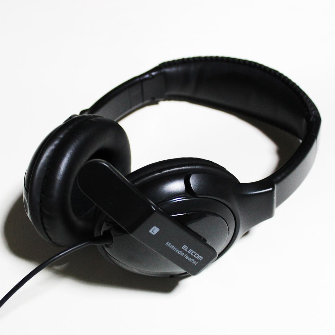 ヘッドセット HS-HP18UBK【ELECOM】