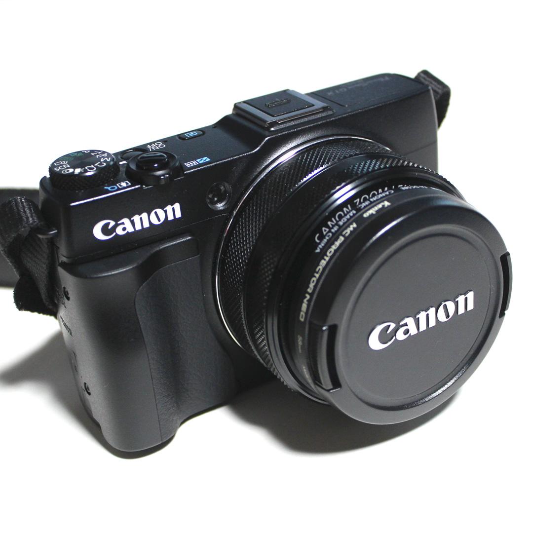 Canon PowerShot G1 X Mark Ⅱ オプション装着