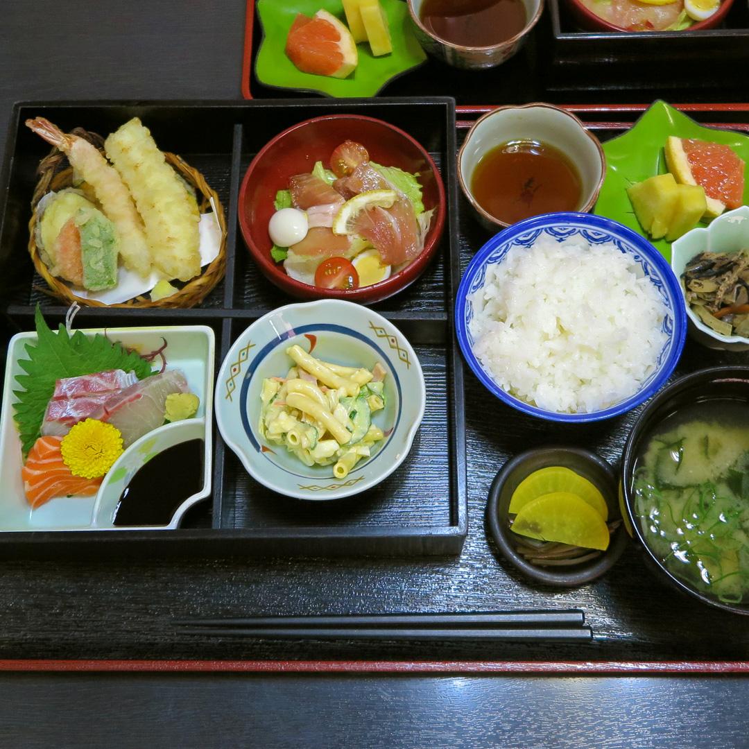 松華堂定食(梅)【和風レストランみかど】