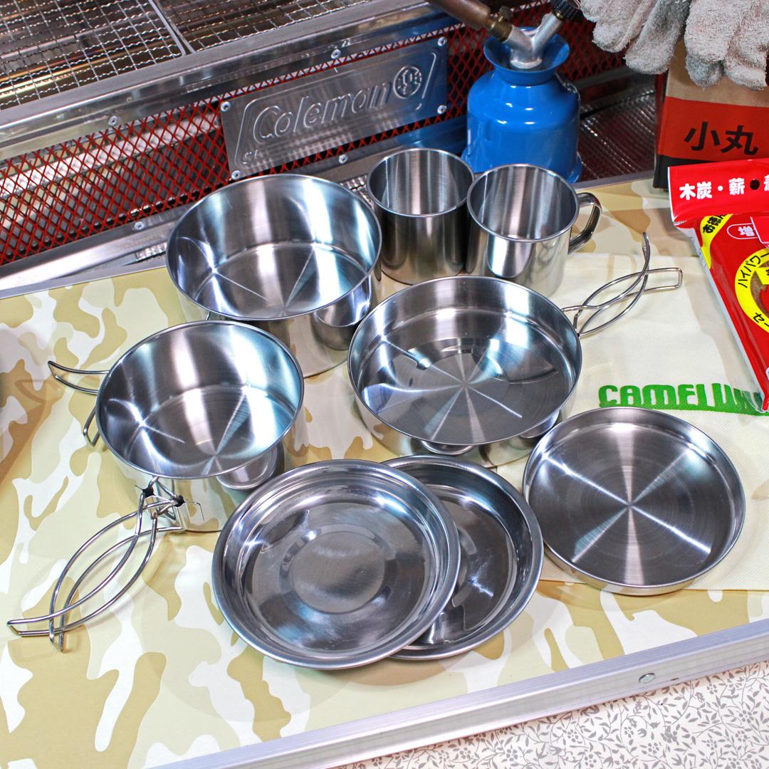 丸形キャンピング鍋|丸型キャンピング鍋