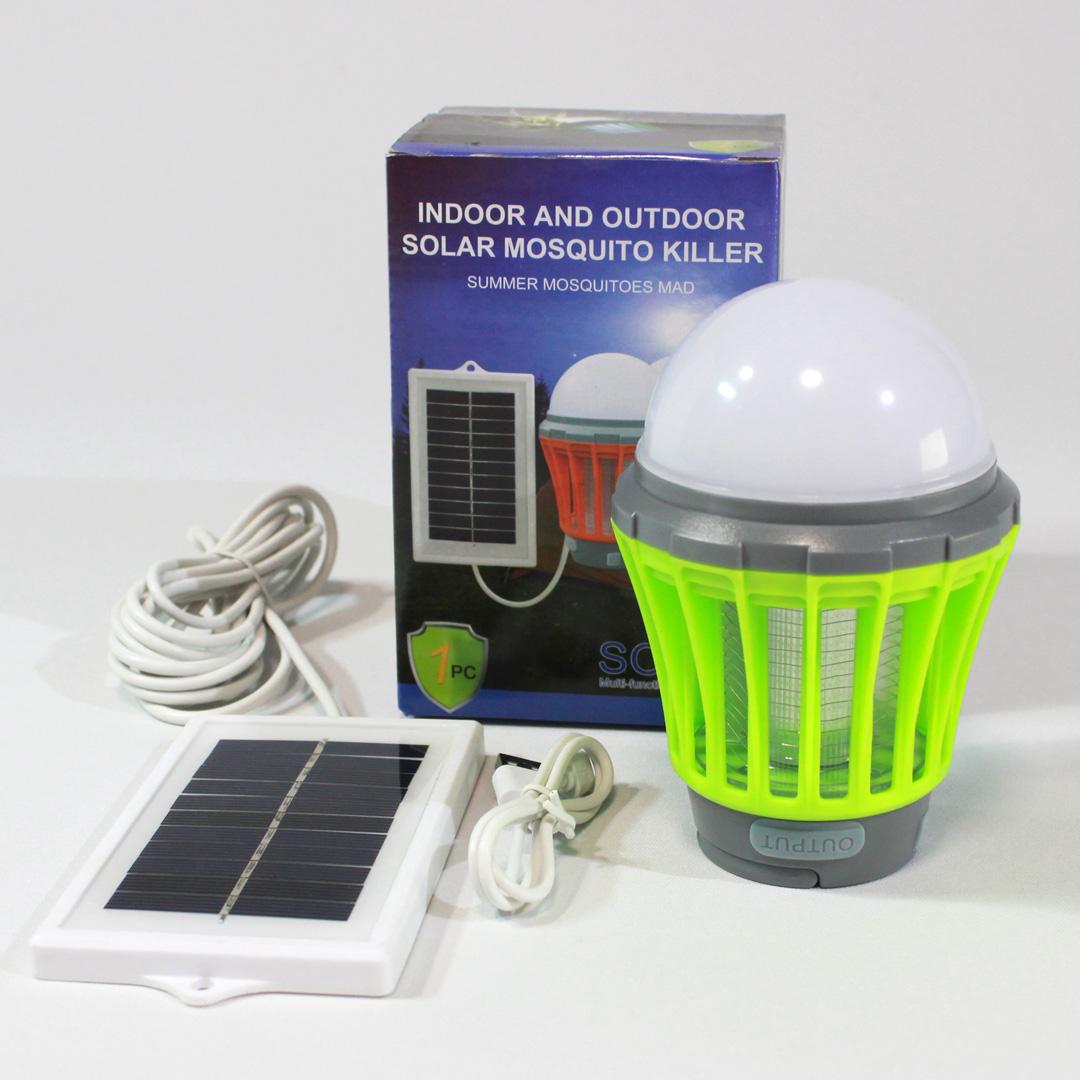 LEDランタンライト&紫外線誘引式電撃殺虫灯