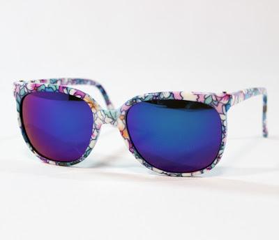 SEELEX製ミラーレンズタイプサングラス