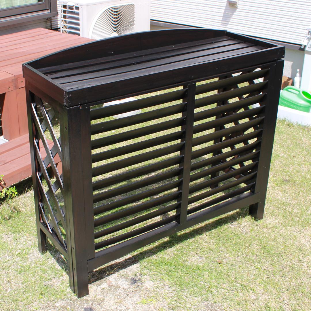 水性塗料|木材保護塗料|リフォーム|ペンキ塗り|室外機カバー