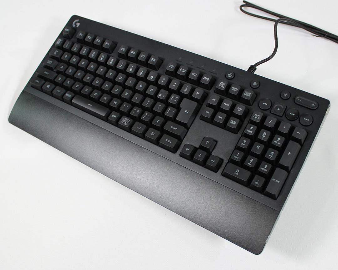 ゲーミングキーボードG213リピート購入した|logicool