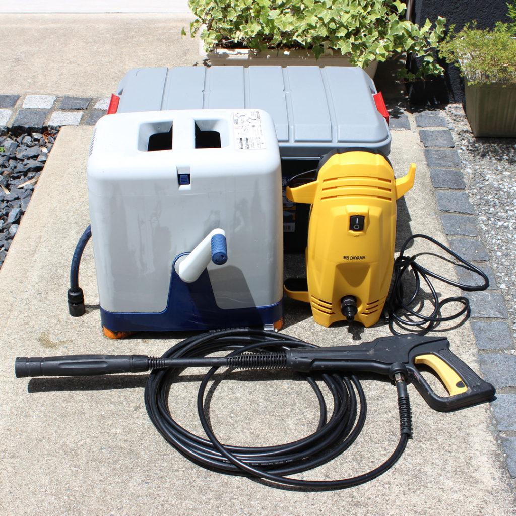 アイリスオーヤマの高圧洗浄機