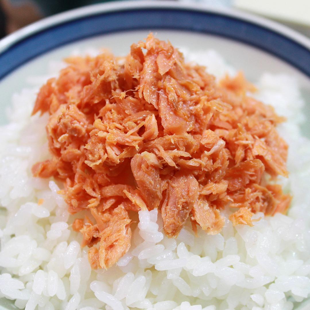 ご飯のお供|北海道産あらほぐし焼さけ
