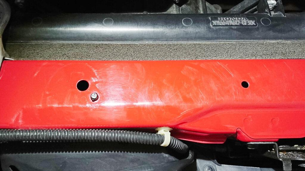 S2000エンジンコアブロックの傷